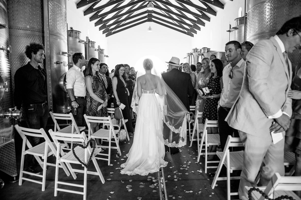 Weddings at Bramon Wine Cellar